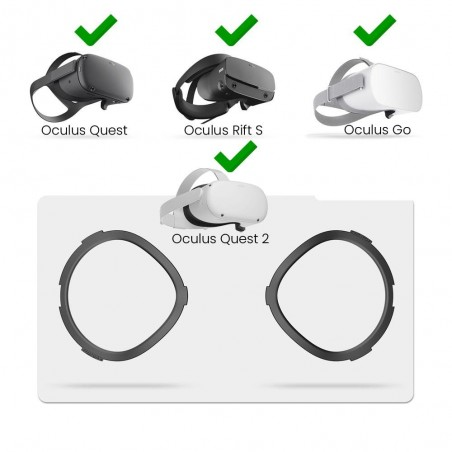 Compatible with Oculus Quest 2, Rift S, Go
