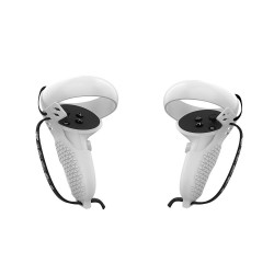 Coque de Protection Grip Cover pour manettes Oculus Quest 2 (Blanc)