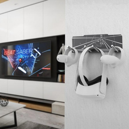Display your VR headset proudly in your living room